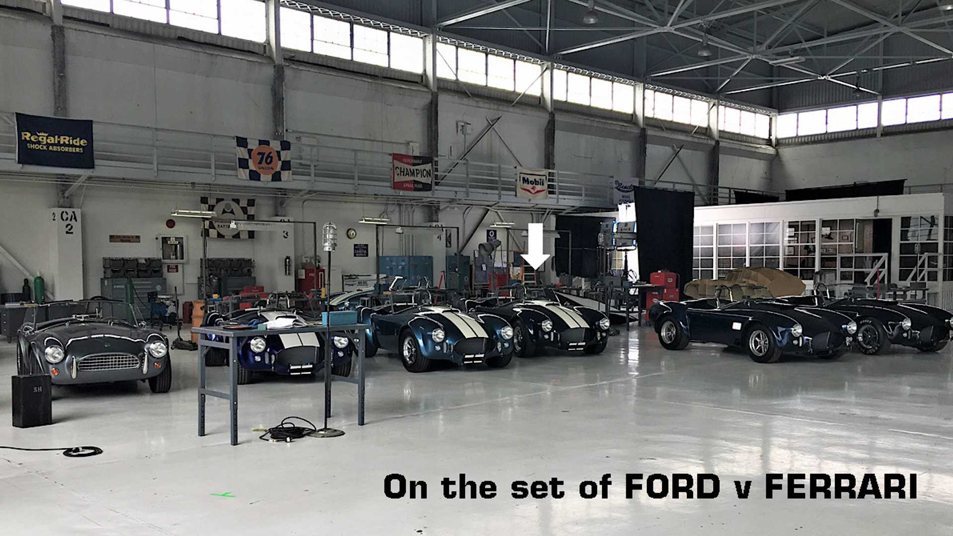 Enter To Win This Shelby Cobra 427 Used In Ford V Ferrari Filming Motorious
