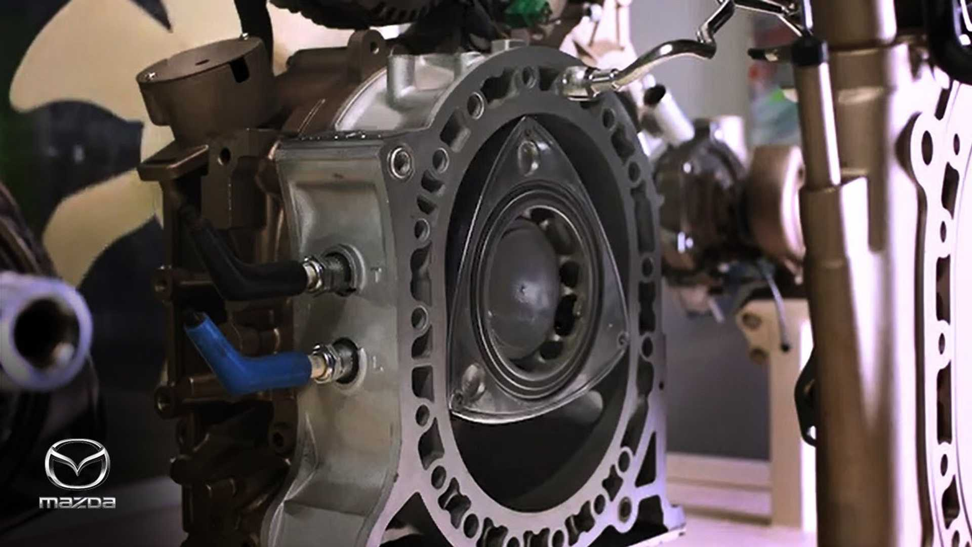 Mazda video reconfirms the rotary engine is coming back