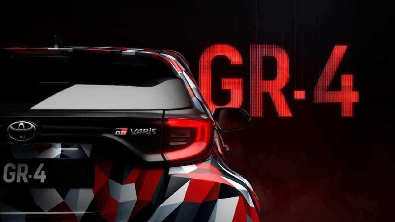 Teaser Toyota Yaris GR-4
