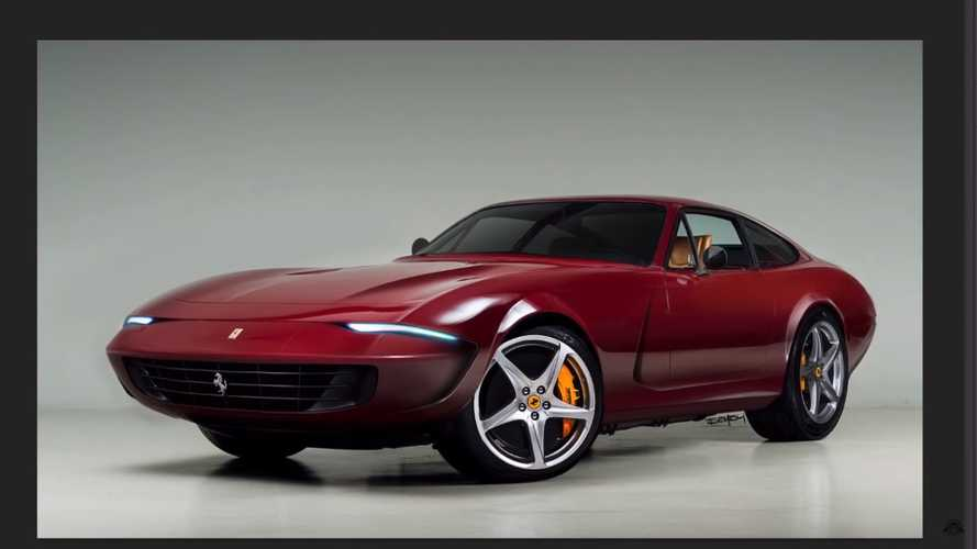 Ferrari Daytona getting modern makeover is a controversial creation
