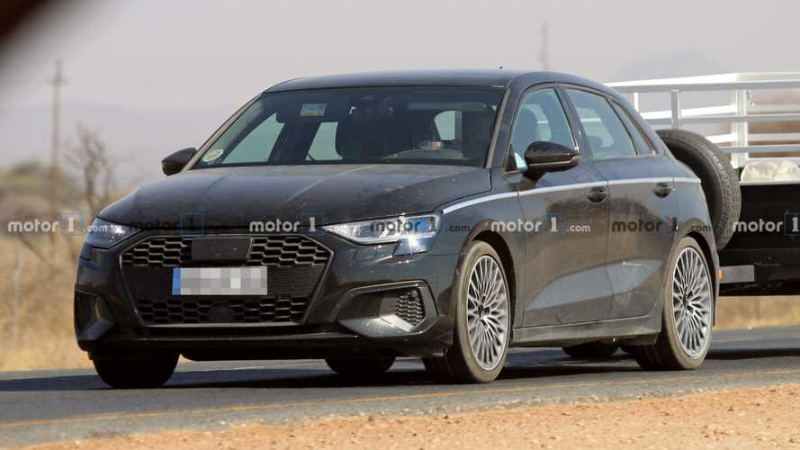 2020 Audi A3 Caught Fully Exposed In New Spy Shots