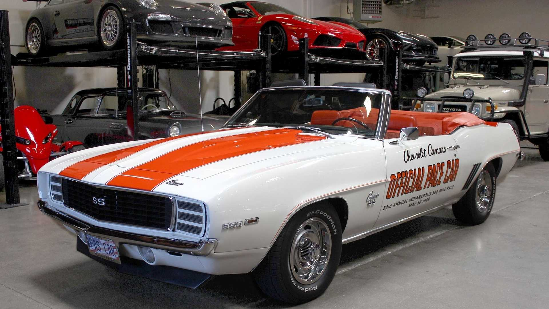 """[""""Own A Piece Of Pace Car History With This Incredible Camaro""""]"""