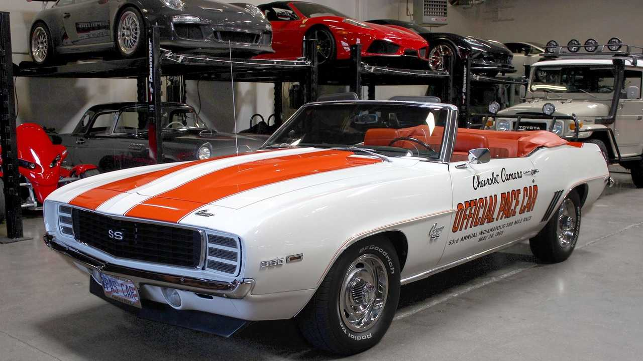 Own A Piece Of Pace Car History With This Incredible Camaro