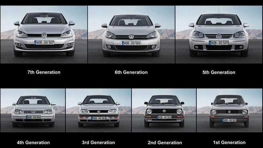 Volkswagen Golf e tutte le sue novità, generazione per generazione