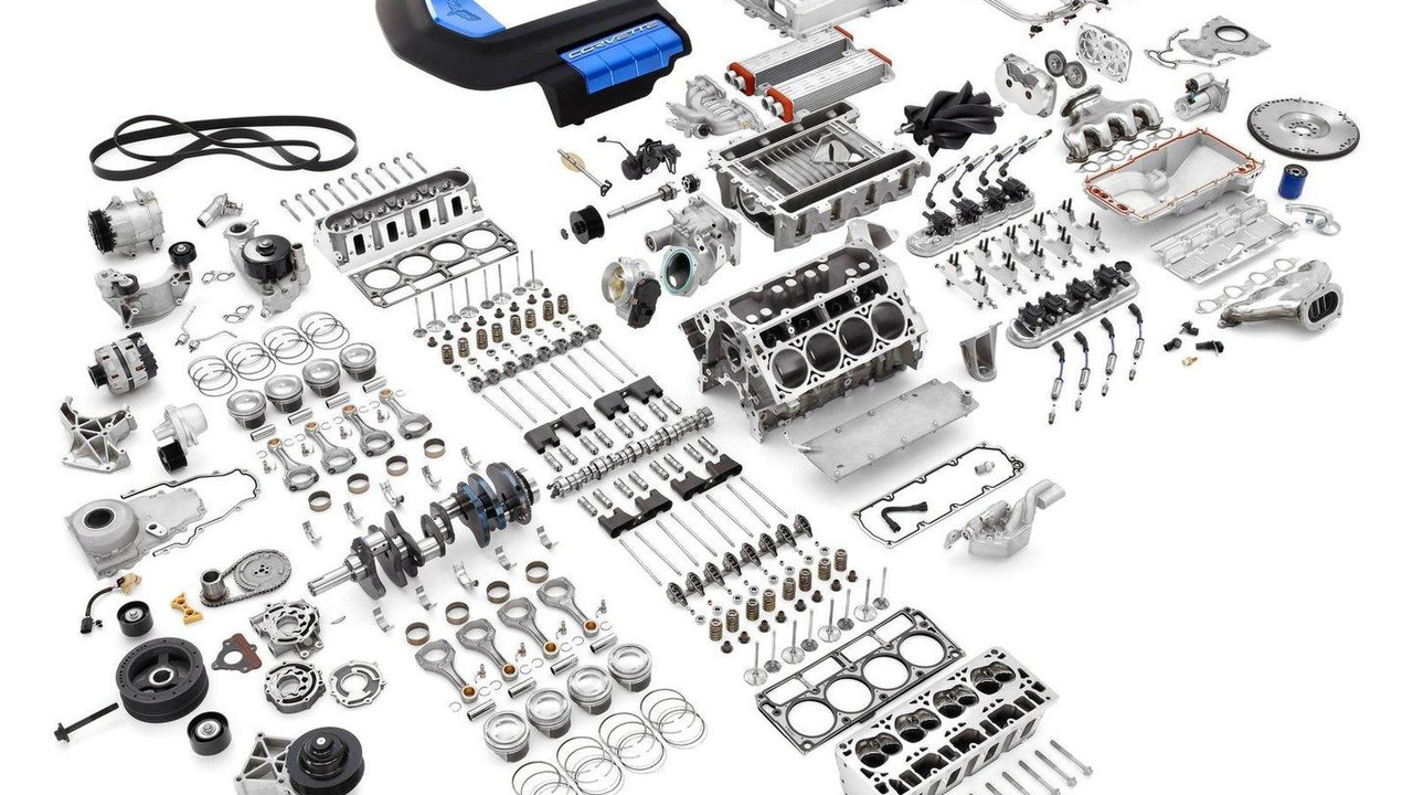 LS7 and LS9 engine kits by Chevrolet Performance 31.10.2011