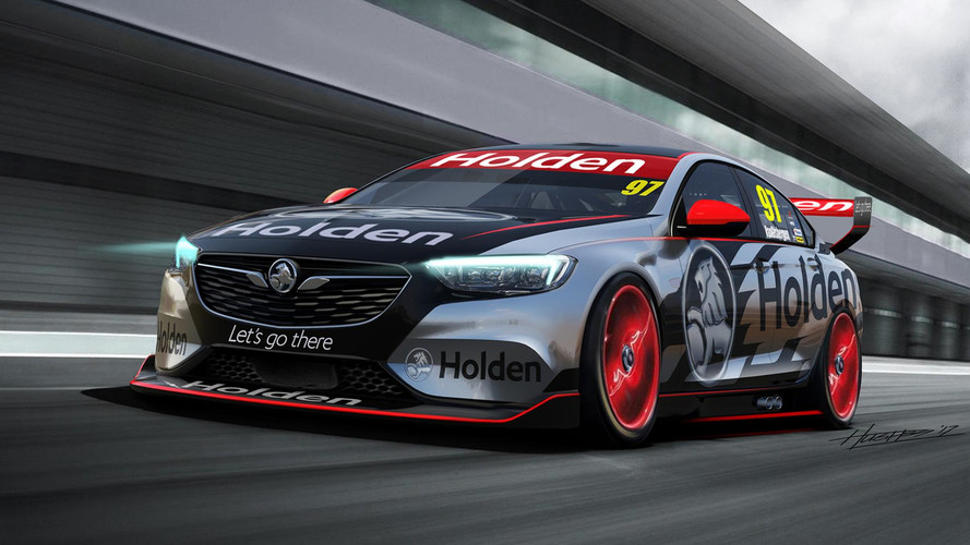 2018 Holden Commodore Supercar Revealed With V8 Engine