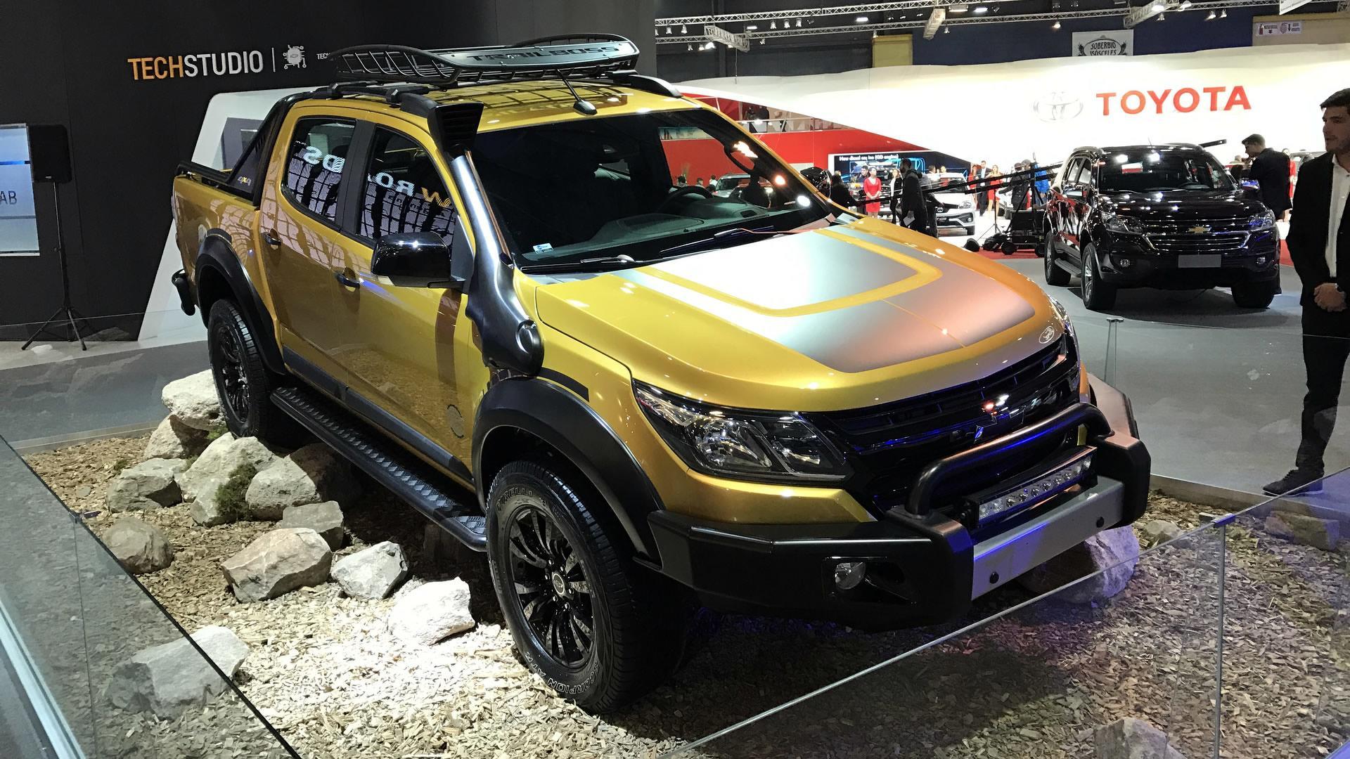 Chevrolet S10 Trailboss Concept Seeks Adventure In Latin America