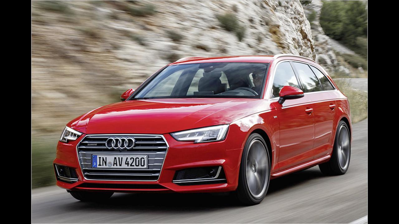 Der Vertreter: Audi A4 Avant 2.0 TDI