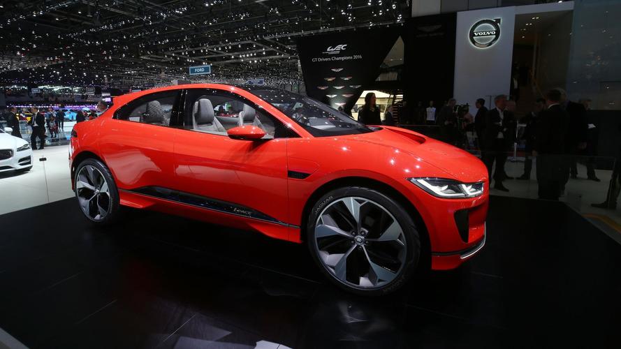 Genfben debütál a Jaguar I-Pace sorozatgyártott változata