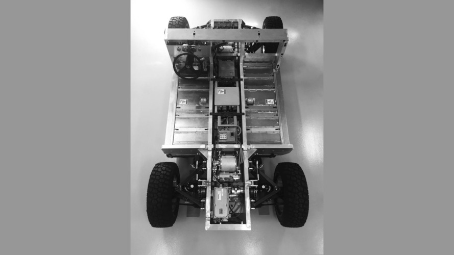 Bollinger electric truck chassis