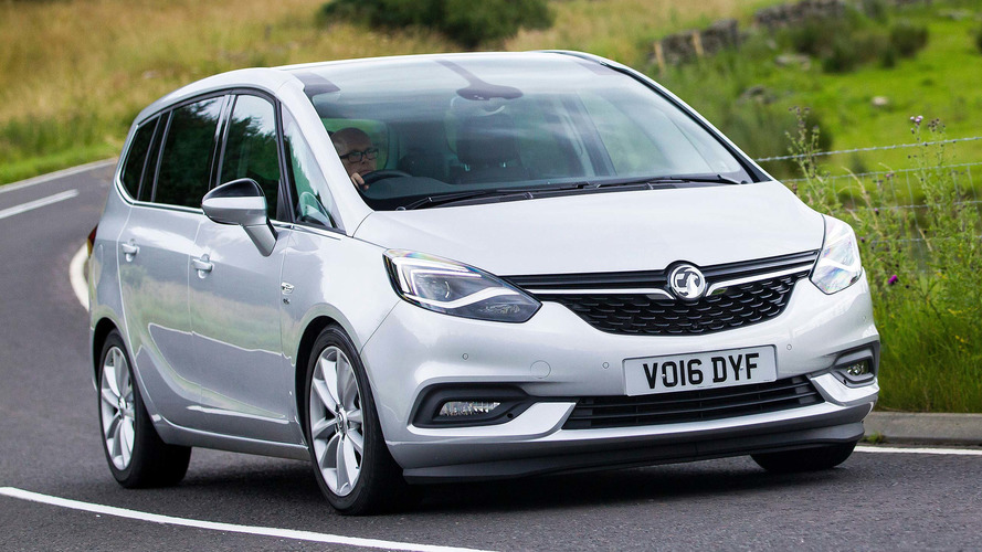 2017 Vauxhall Zafira Tourer Review