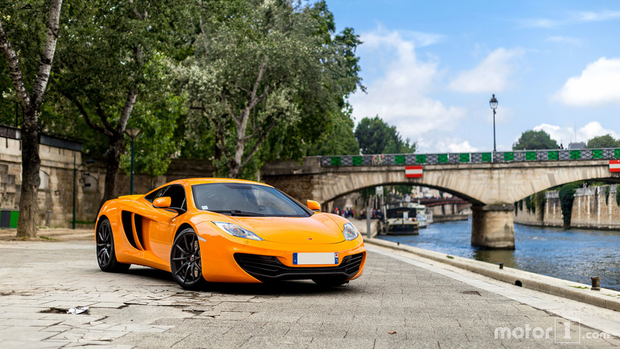 KVC - McLaren MP4-12C à Paris