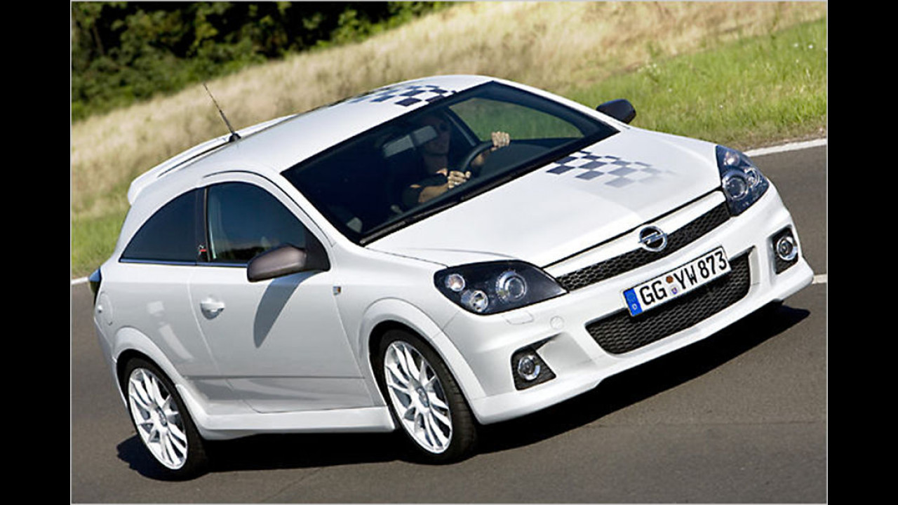 Platz 10: Opel Astra OPC 2005