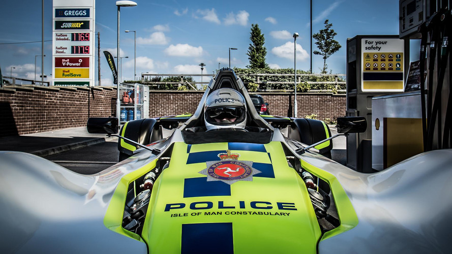 Isle Of Man Cops Get New BAC Mono Police Car