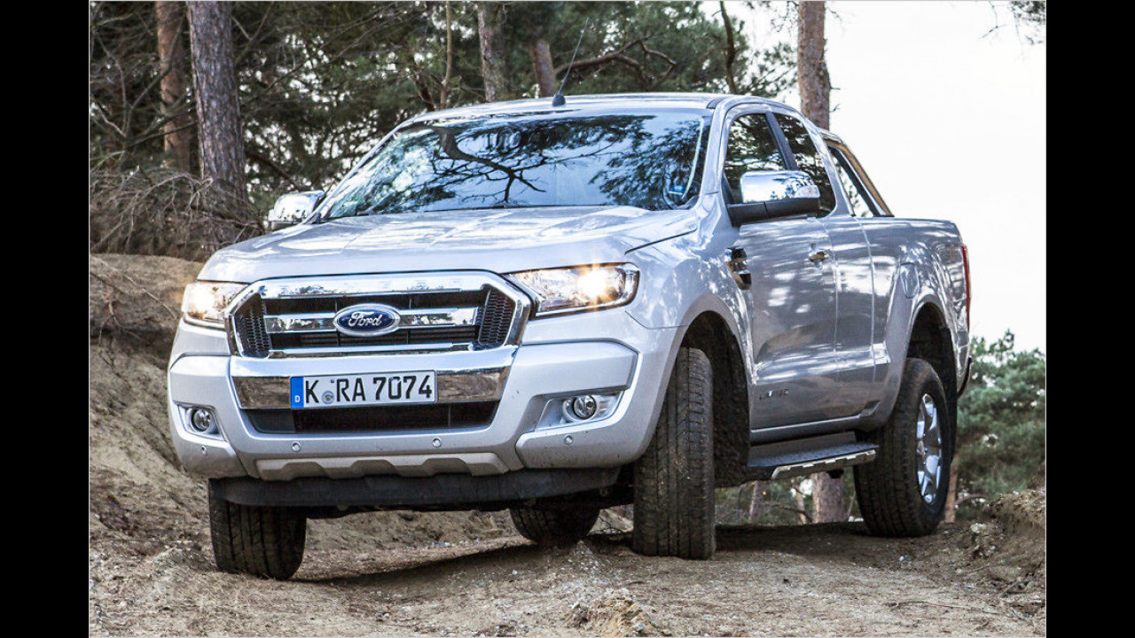 Platz 7: Ford Ranger, Durchschnittspreis 33.922 Euro