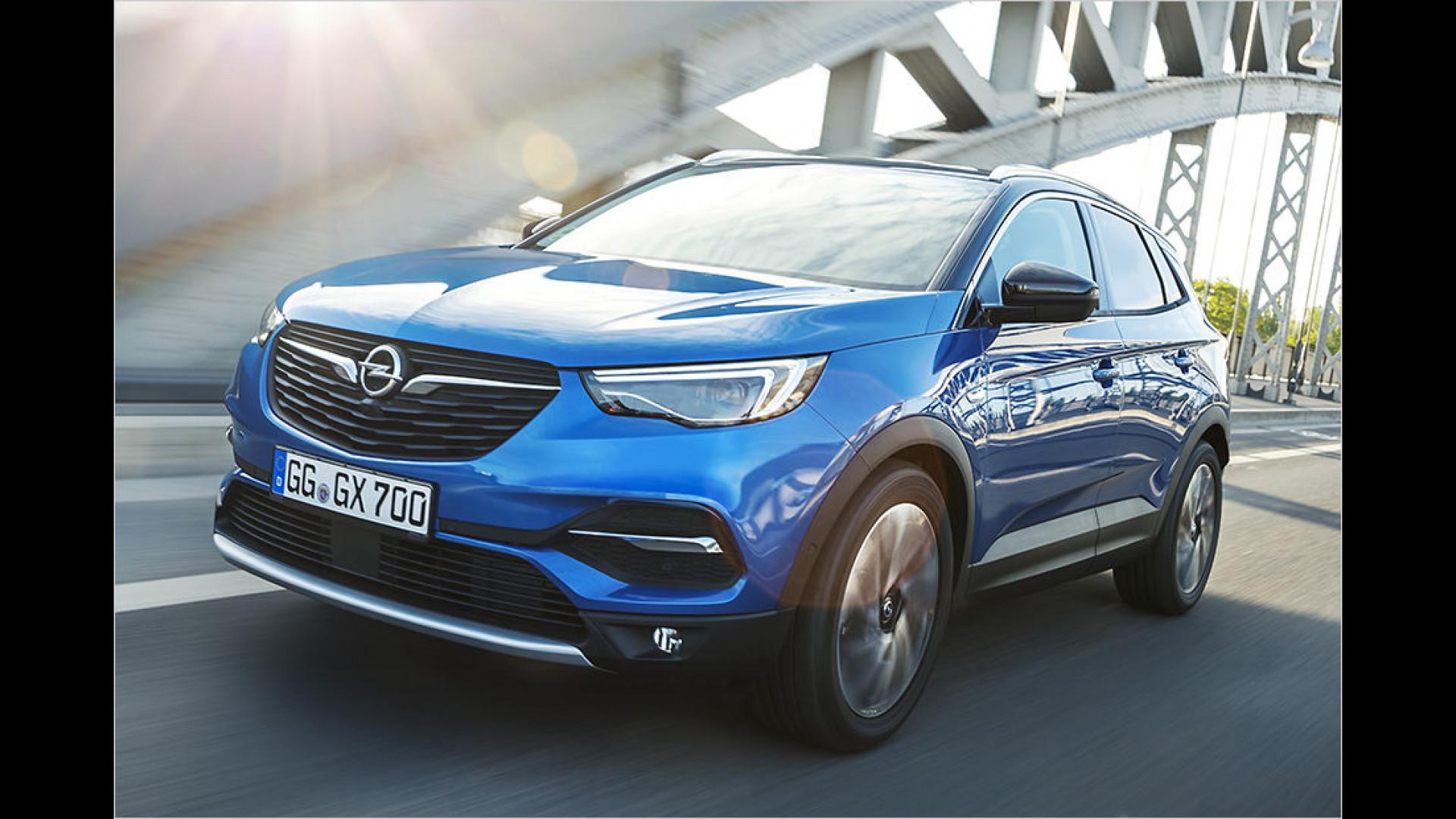 Preise Opel Grandland X 2017