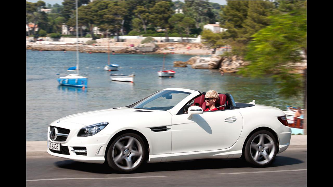 Platz acht: Mercedes SLK