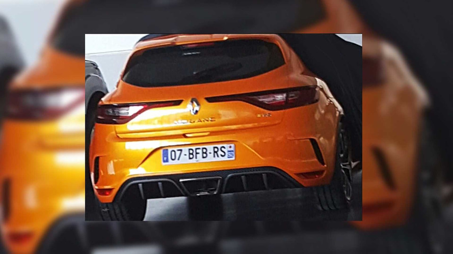 2018 Renault Megane RS Revealed In Leaked Image