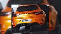 Renault Megane RS sızdırılan fotoğraflar