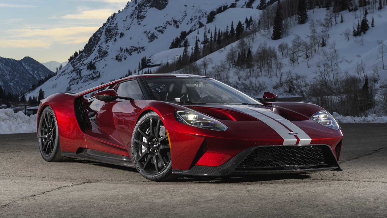 Ford Gt First Drive