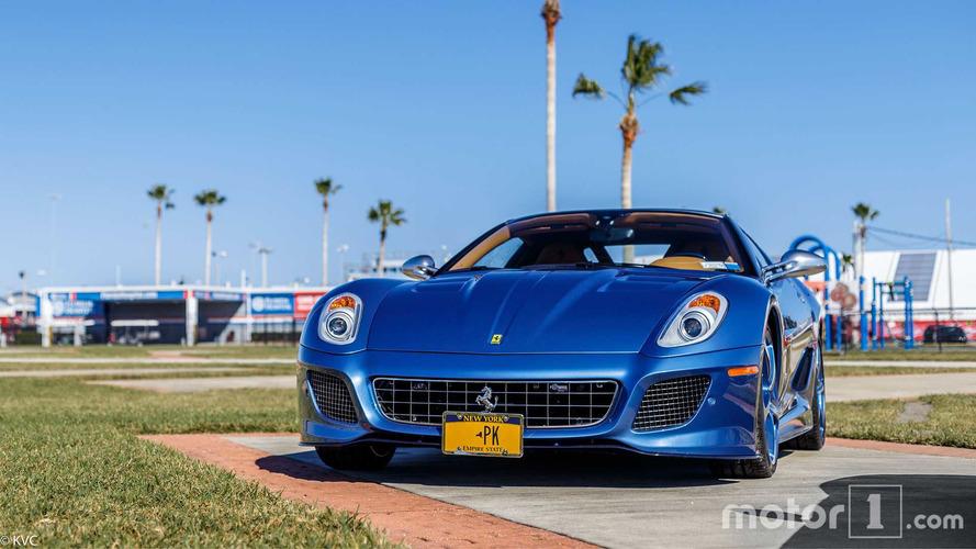 Así es el único Ferrari Superamerica 45 visto en Daytona