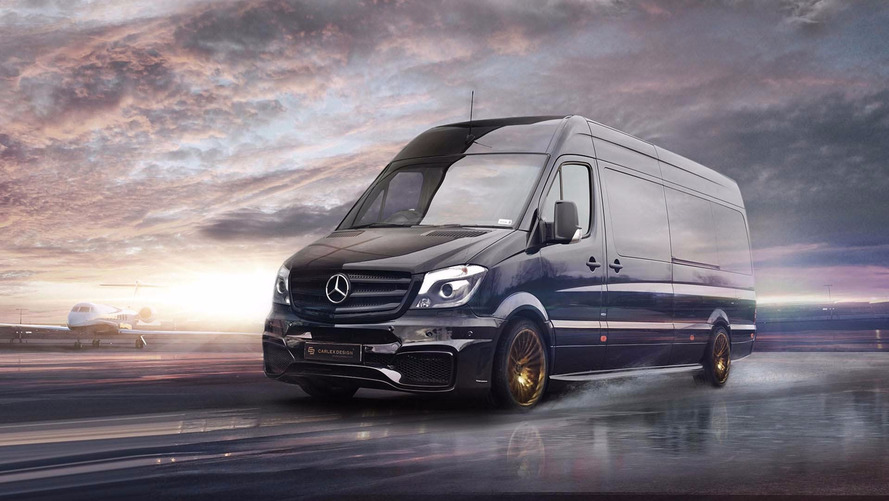 Mercedes Sprinter By Carlex Is A Luxury Office For The Road