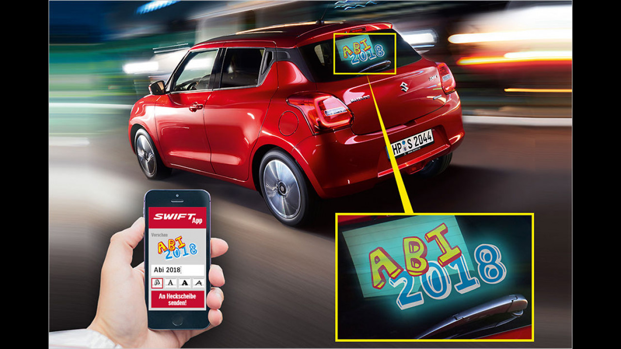 Suzuki: Swift your Message
