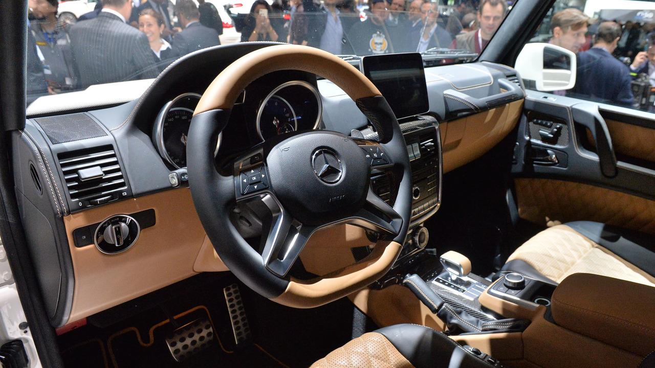 Mercedes Maybach G650 Landaulet Offers V12 Power S Class Rear Seats