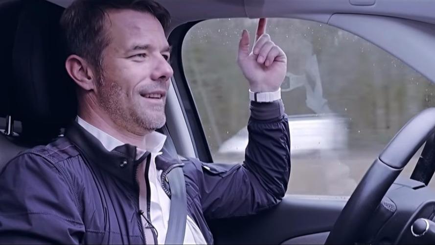 VIDÉO - Sébastien Loeb découvre la voiture autonome PSA