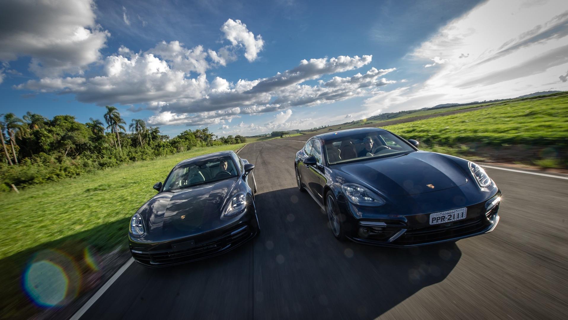 Volta Rapida Porsche Panamera 2017 Mais 911 Do Que Nunca