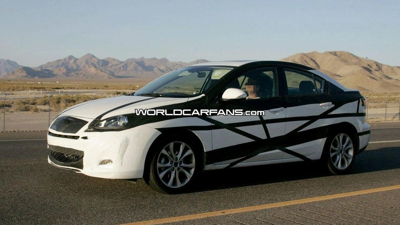 All New 2010 Mazda3 spy photo