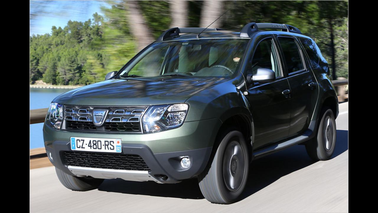 Platz 1: Dacia Duster dCi 90 4x2 (ab 13.790 Euro)