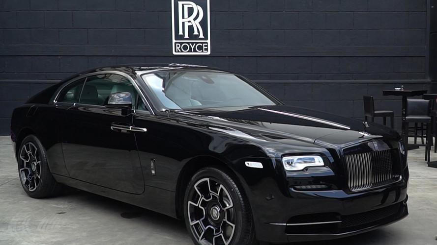 Rolls-Royce Wraith Black Badge Türkiye'de!