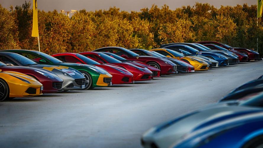Ferrari sahipleri Cavalcade 2017'de markayı kutladı