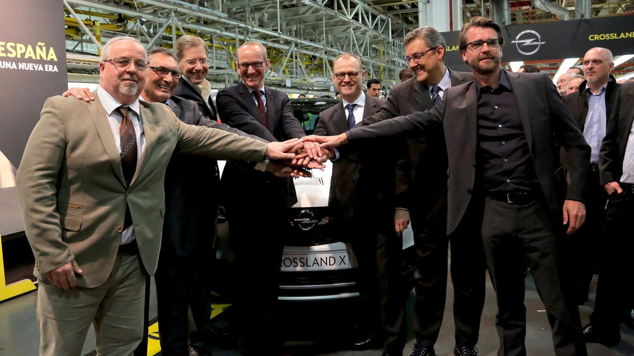 Opel Crossland X 2017 inicio producción