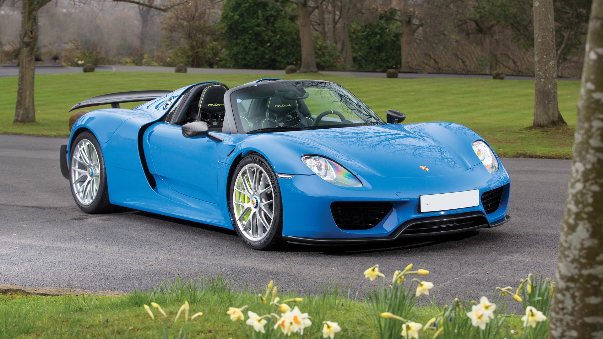 This Is The Only Arrow Blue Porsche 918 And Its For Auction