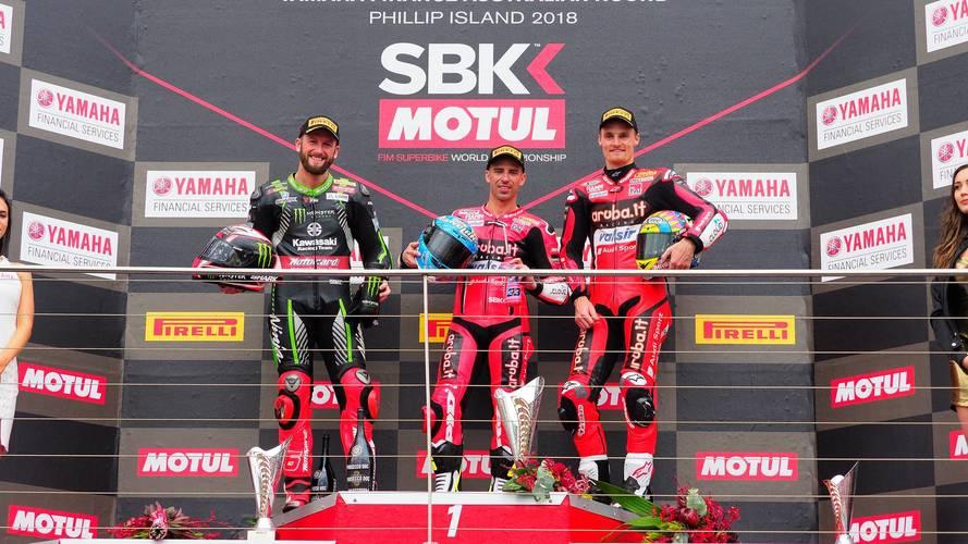Melandri y Ducati se imponen en la primera carrera del WorldSBK 2018