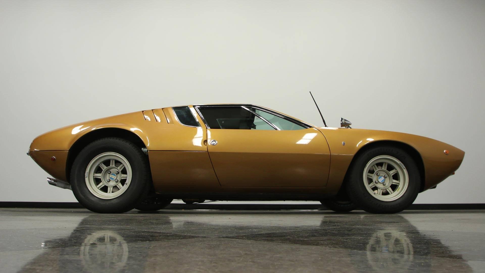 De Tomaso Mangusta >> Low Mileage 1969 De Tomaso Mangusta Demands 300 000