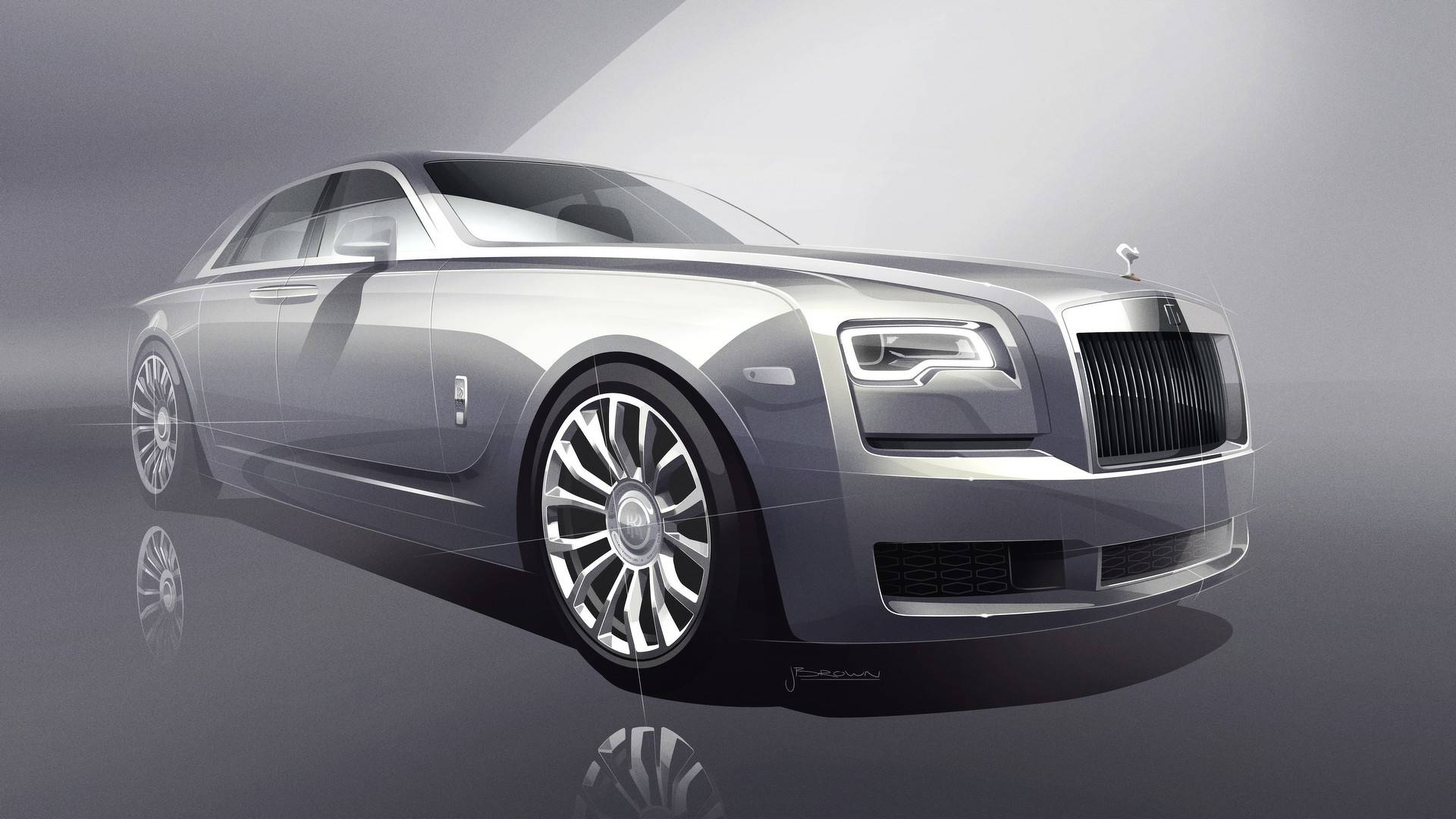 Rolls Royce Reveals Stunning Limited Silver Ghost Collection