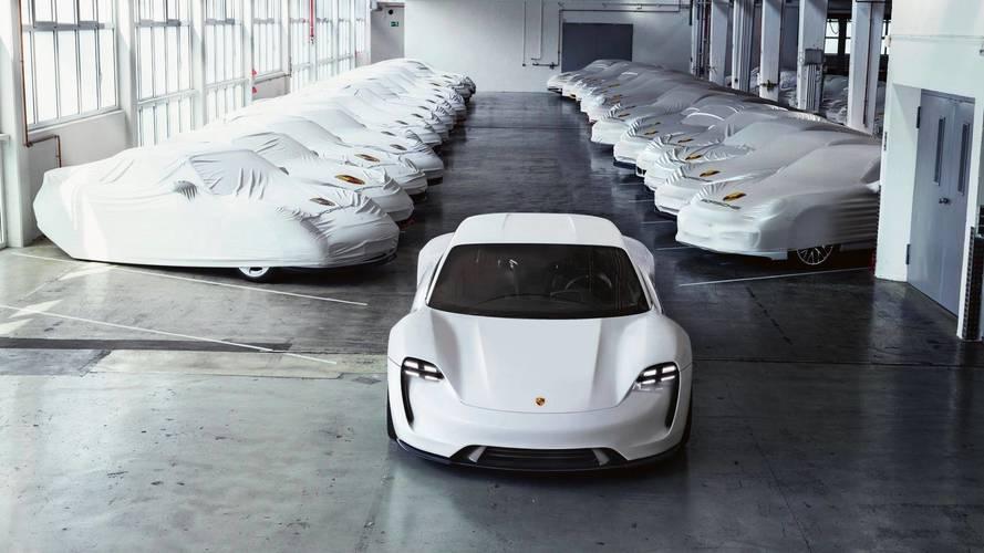 Porsche - Après la Taycan, un SUV et une sportive électriques ?