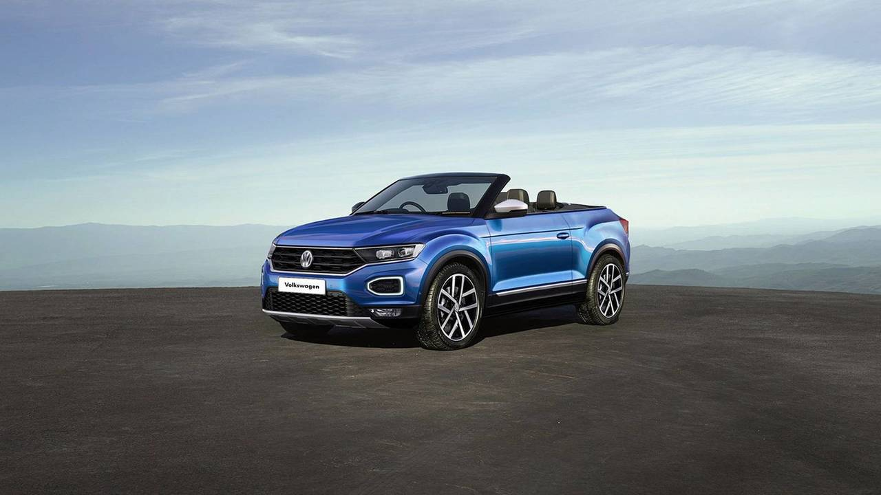 preparing for the inevitable 2020 vw t roc cabrio rendered. Black Bedroom Furniture Sets. Home Design Ideas