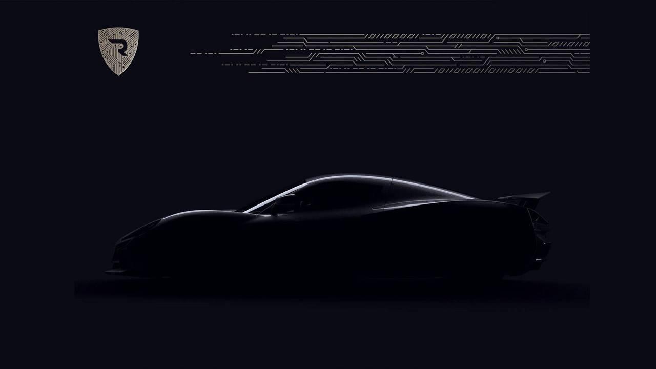 Rimac'ın Yeni Elektrikli Hiper Otomobilinin Teaser Görüntüleri