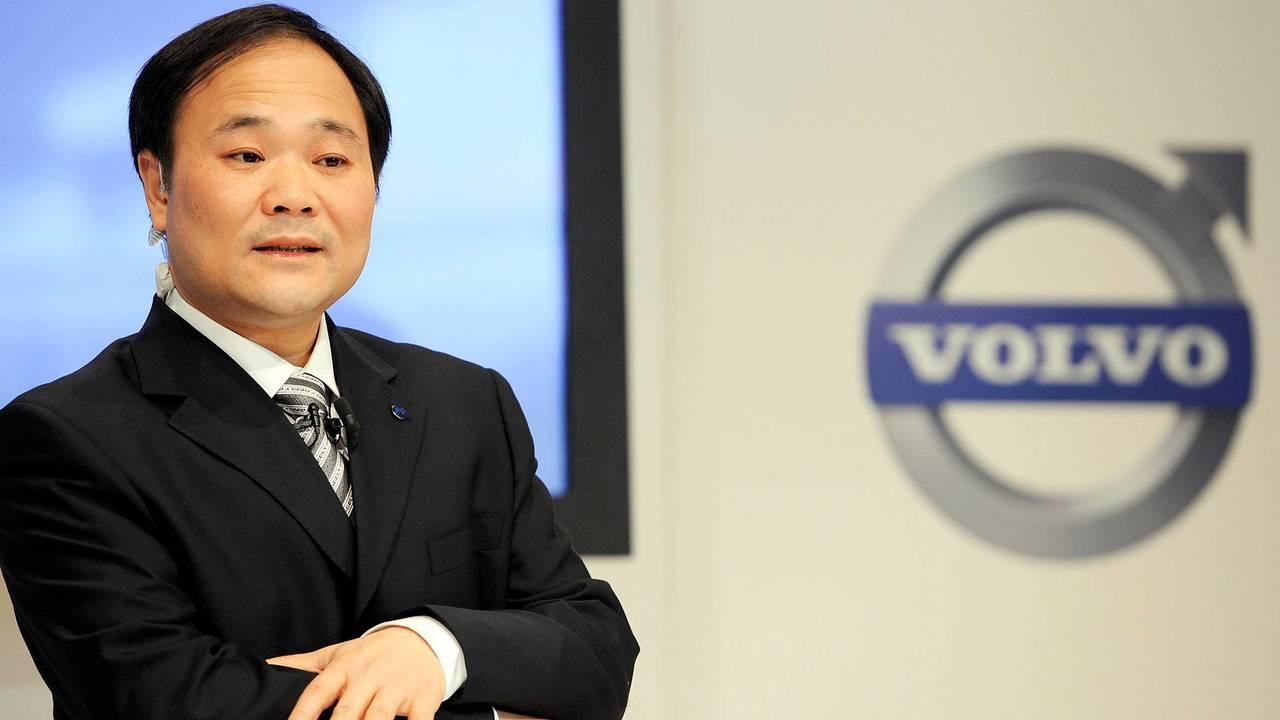 Li Shufu e Volvo