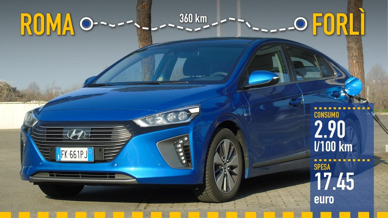 [Copertina] - Hyundai Ioniq Plug-in, la prova dei consumi reali