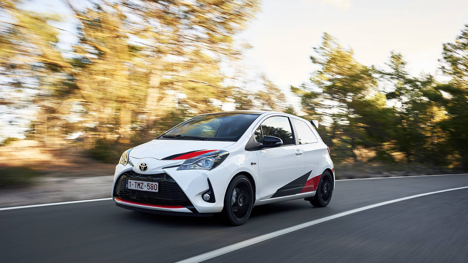 See The Supercharged Toyota Yaris GRMN Go From 0 To 100 MPH