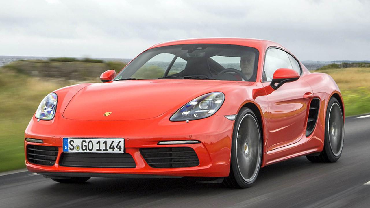 Sportwagen: Porsche 718 Cayman
