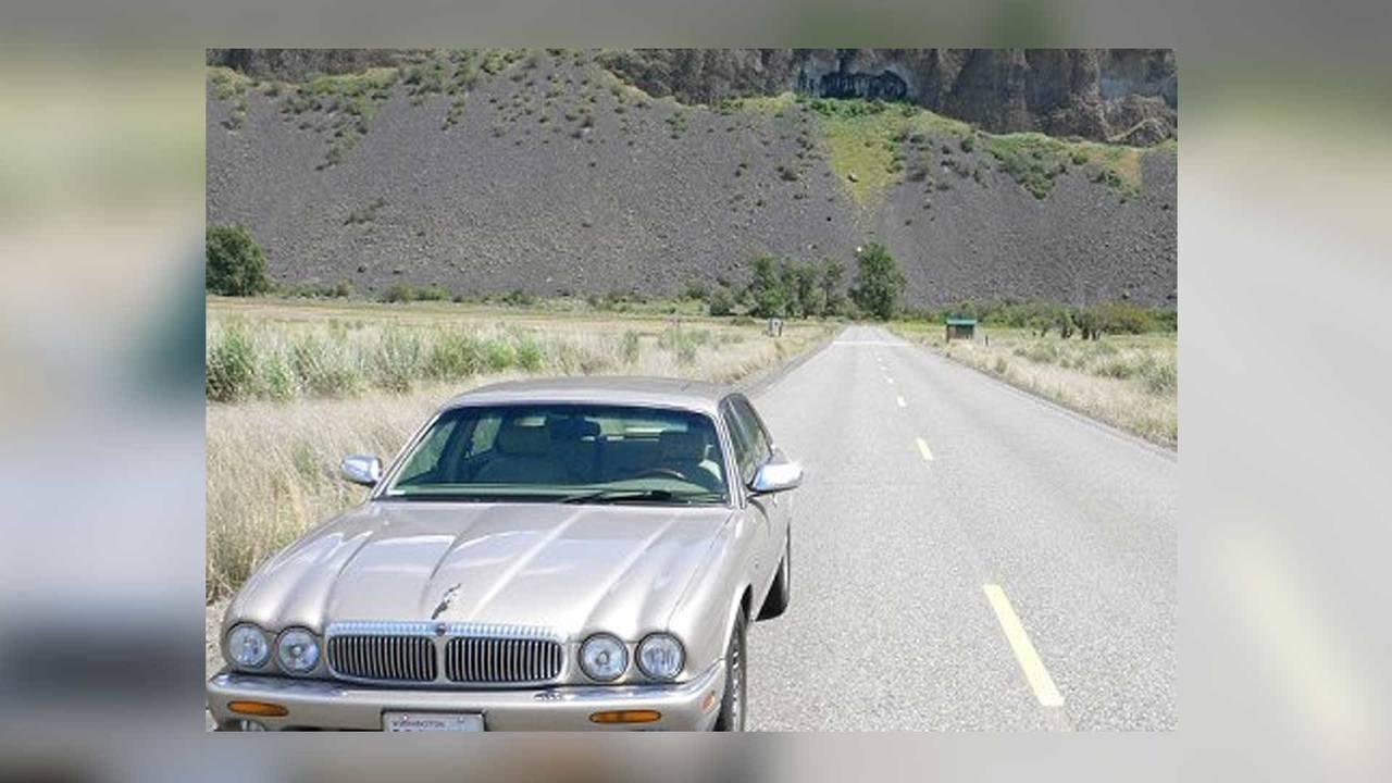 Jaguar towed