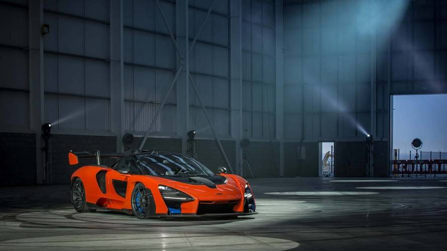See McLaren Christen New Tech Center With Senna Supercar Donuts