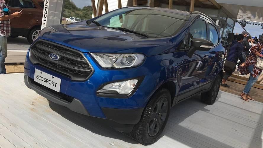 Ford EcoSport 4x4 chega ao mercado argentino com câmbio automático