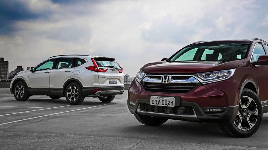 Novo Honda CR-V sofre aumento de preço e fica R$ 9 mil mais caro